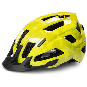Cube Steep Casque, glossy citrone